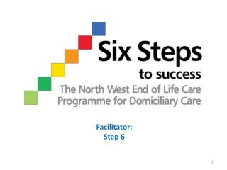 Facilitator:  Step 6