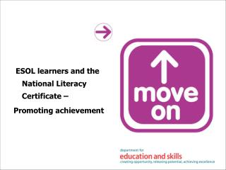 ESOL learners and the National Literacy Certificate – Promoting achievement