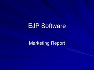 EJP Software