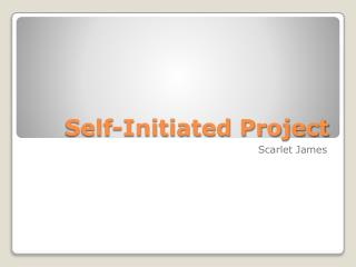 Self-Initiated Project