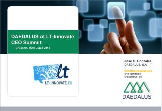 DAEDALUS at LT- Innovate  CEO  Summit