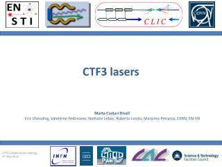 CTF3 lasers