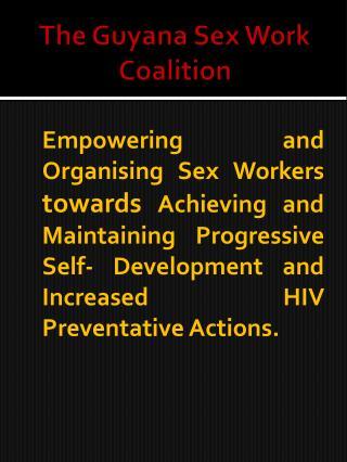 The Guyana Sex Work Coalition