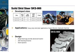 Solid Skid Steer SKS-900