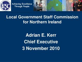 Local Government Staff Commission for Northern Ireland