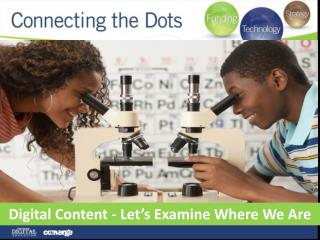 Digital Content - Let's Examine Where We Are