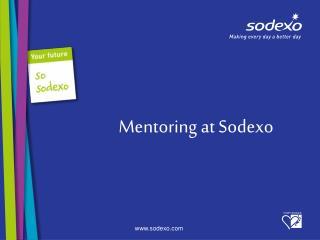 Mentoring at Sodexo