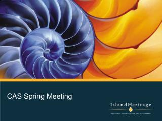 CAS Spring Meeting