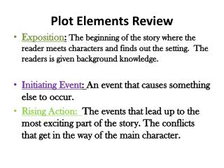 Plot  Elements Review