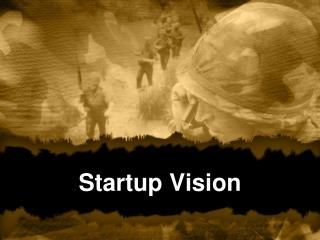 Startup Vision