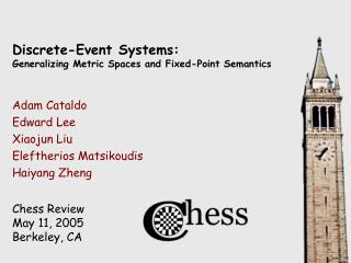 Discrete-Event Systems: Generalizing Metric Spaces and Fixed-Point Semantics