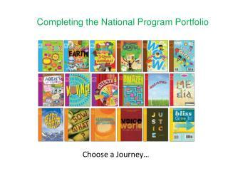 Completing the National Program Portfolio