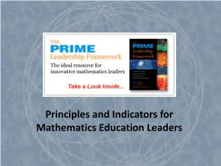 Principles and Indicators for Mathematics Education Leaders