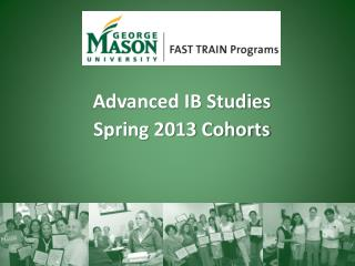 Advanced IB Studies  Spring 2013 Cohorts