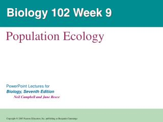 Biology 102 Week 9