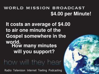 $4.00 per Minute!
