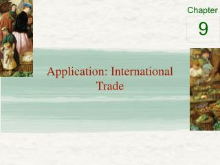 Application: International Trade