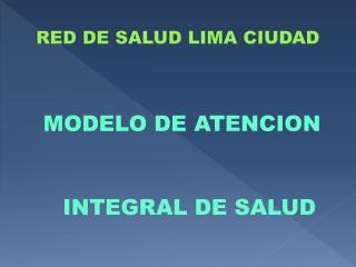 RED DE SALUD LIMA CIUDAD