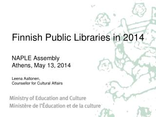 Finnish  Public Libraries in 2014