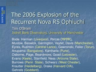 The 2006 Explosion of the Recurrent Nova RS Ophiuchi