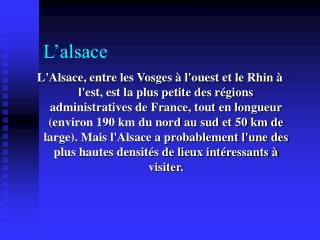 L�alsace