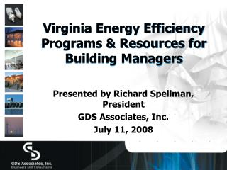 Virginia Energy Efficiency Programs  Resources for Building Managers