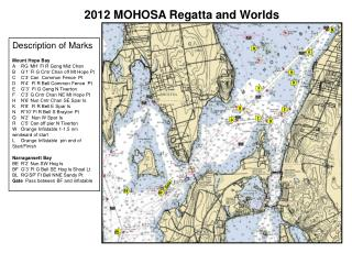 2012  MOHOSA Regatta and Worlds