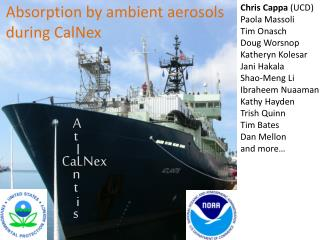 Absorption by ambient aerosols during  CalNex