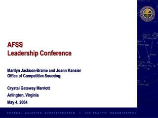 AFSS Leadership Conference