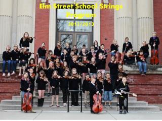 Elm Street School Sharing