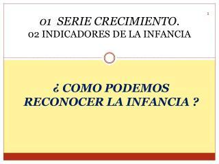 01  SERIE CRECIMIENTO . 02 INDICADORES DE LA INFANCIA
