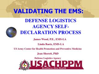 DEFENSE LOGISTICS AGENCY SELF-DECLARATION PROCESS
