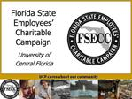 Florida State Employees  Charitable Campaign
