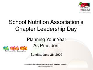 School Nutrition Association's Chapter Leadership Day