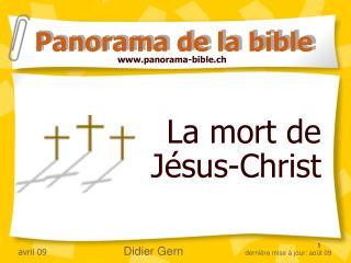 La mort de Jésus-Christ