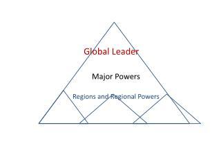 Re Regional Powers