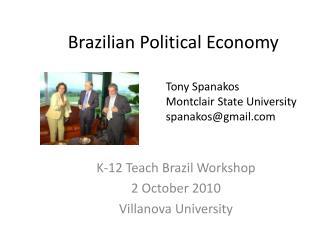 Brazilian Political Economy
