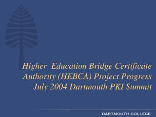 HEBCA Project