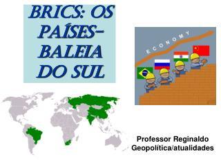 BRICS: OS PAÍSES-BALEIA DO SUL