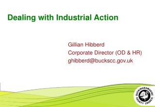 Dealing with Industrial Action