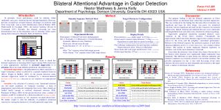 Bilateral Attentional Advantage in Gabor Detection