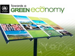 1.  Green Economy Origins and Context