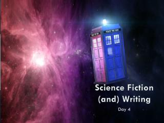 Science Fiction (and) Writing