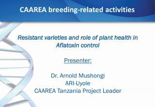 CAAREA breeding-related activities