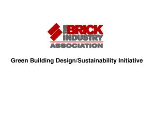 Green Building Design/Sustainability Initiative