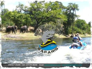 CONTACT ANDRE - Cell: +277 873 80240 -   Email:  andrefrtz@gmail  -  big5jetskisafaris