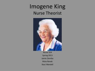 nurse theorist Mal processto select a nurse theorist who reflects their mission, vision, and values each organization must clearly define the terms of a profes-.