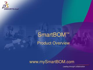 SmartBOM  Product Overview