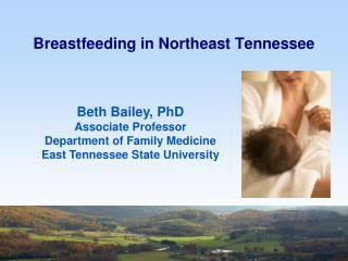 Breastfeeding in Northeast  Tennessee