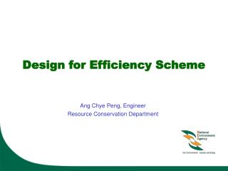 Design for Efficiency Scheme